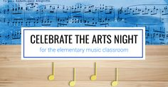 Tons of free resources and ideas to put on your own Celebrate the Arts Night for elementary music teachers. Games include summer rhythm matching, vocal exploration station, and instrument riddles.