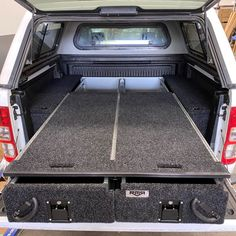 If you've been looking for heavy duty drawers that have been made to the highest standards at an affordable price then look no further! RMR Double Roller Ute Drawers With Top Slide. Holden Colorado, Isuzu D Max, Vw Amarok, Metal Drawers, Toyota Hilux, Tracking System, Ford Ranger, Tool Storage, Storage Solutions