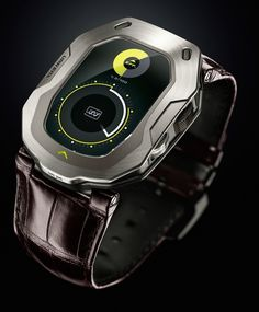 Urwerk UR-105 HIS 'Horological Intelligence System' Will Smartly Watch Over You