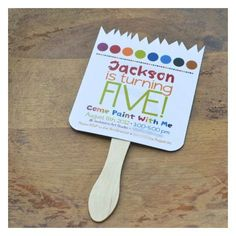 kids paint party ideas | Paint Party Invitations Kids Art Party Cute | birthday ideas