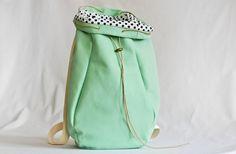 Schultertaschen - Rucksack KALIBER // KALIBER backpack by kaliber fashion via dawanda.com
