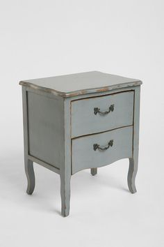 I wish this matched our bedroom set because I am coveting the grey