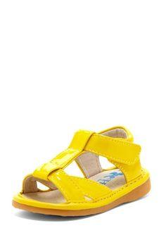Hide & Squeak Patent Beach Sandal by Hide & Squeak on @HauteLook