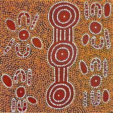 Image result for Aboriginal dot paintings