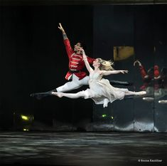 Laura Day and Tyrone Singleton in BRB's Nutcracker at the Royal Albert Hall - Photo by Emma Kauldhar