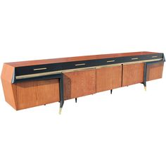Monumental 11ft long 'Galáctica' Credenza by Frank Kyle, Mexico, 1950s | 1stdibs.com house of blu (1280×1280)