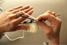 Forskellige strikketeknikker #Louise Klindt