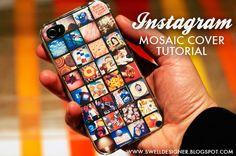 Instagram Mosaic cover tutorial