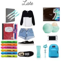 Back to School- Outfit #15 + Supplies
