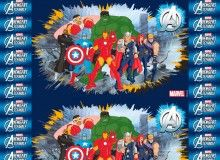 TNT Estampado Vingadores Avengers - Painel