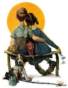Norman Rockwell - Kids 1926
