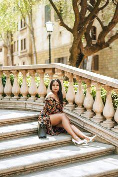 www.cocoafemme.com a Floral Bardot dress #summeroutfits #floraldress #summerdress #cocoafemme #offtheshoulderdress Winter Outfits, Summer Outfits, Summer Dresses, Floral Bardot Dress, Off The Shoulder, Shoulder Dress, Everyday Makeup, Work Wear, Cocoa