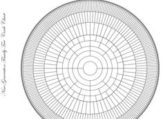 Love this circular family tree chart at http://obituarieshelp.org/downloads/nine_generation_circular_genealogy_trees.pdf