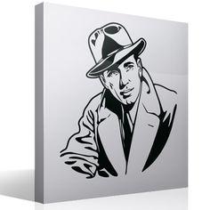 Stickers muraux Bogart 3