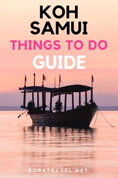 Epic Koh Samui Things To Do Travel Guide. Learn what to do on this amazing island in Thailand. Definite travel inspiration and goals Thailand Adventure, Thailand Travel Tips, Visit Thailand, Asia Travel, Koh Samui Thailand, Thailand Resorts, Ko Samui, Island Life, Australia Travel