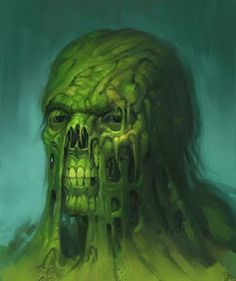 Joel Hustak Illustration: Swamp Thing