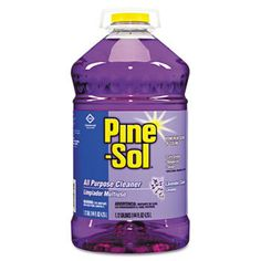 - Commercial Solutions Cleaner, Lavender, 144 oz Bottle, - Sold As 1 Carton - Deodorizes and eliminates unpleasant odors. Pine Sol, Chemical Suppliers, Janitorial Services, Traditional Office, Commercial, Cleaning Chemicals, Best Cleaning Products, All Purpose Cleaners, Lavender Scent