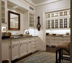 no window over the kitchen sink? hang a mirror! — good ideas for