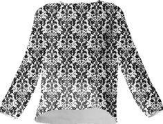 Wallpaper Heart Black Silk Top - Available Here: http://printallover.me/collections/sondersky/products/0000000p-wallpaper-heart-black-6