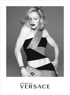 First Look: Madonna for Versace Spring Summer 2015