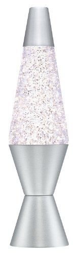 Lava Lamp Colormax, White/Tri-Colored, Aluminium, 25 W, World Print Glitter Lamp, Soothing Baby, Thing 1, Free Delivery, Lava Lamps, Silver, Christmas 2016, Amazon, Bedroom Ideas