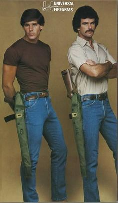 M1 rifle holster by Universal Firearms ... #Blastfromthepast