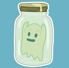 Rick and Morty • Ghost in a Jar