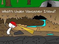 Caving at Horne Lake Caves