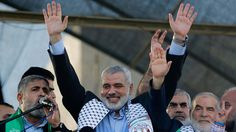 Ex-Gaza chief Haniya elected leader of Hamas         (FILES) This file photo taken on August 27, 2014 shows Hamas leader in the Gaza Strip...