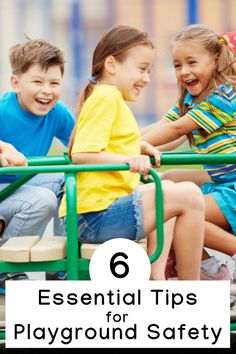 6 Essentail Park & Playground Safety Tips for Kids Gentle Parenting, Parenting Teens, Parenting Advice, Playground Safety, Crazy Funny Videos, Mom Advice, Kids Health, Safety Tips, Child Safety