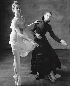 Gelsey Kirkland.  An American ballerina. Kirkland joined the New York City Ballet in 1968 at age fifteen, at the invitation of George Balanchine. She was promoted to soloist in 1969 and principal in 1972. [Ink FromThe Octopus]