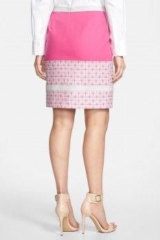 Halogen Halogen(R) Colorblock Pencil Skirt