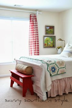 Savvy Southern Style: Decorating With Checks