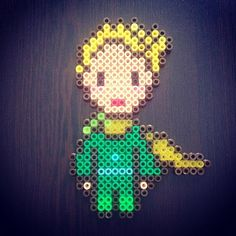 The Little Prince hama beads by cherrydomatesi