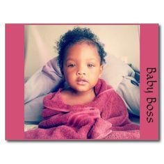 Baby Boss post card