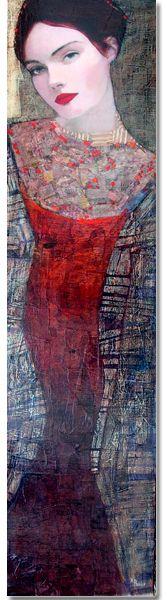 Richard Burlet - Pintor - Retrato Francés - 1957