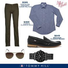 Ponte más guapo con Tommy Hill.