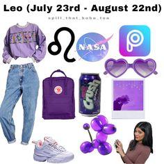 leo zodiac outfits fall ~ fall zodiac outfits + zodiac signs outfits fall + zodiac signs outfits for fall + zodiac sign fall outfits + zodiac signs as fall outfits + zodiac outfits for fall + leo zodiac outfits fall + cancer zodiac outfits fall Purple Outfits, Trendy Outfits, Cool Outfits, Fashion Outfits, Signe Astro Lion, Zodiac Clothes, Zodiac Sign Fashion, Leo Girl, Zodiac Signs Leo