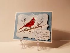 Stampin' Up' Beauty of the Season. October 2014 stamp camp. See…