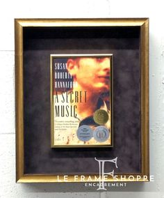 Favourite novel? Look what we did with this beautiful piece! Our team trimmed the cover and framed it in a thin gold metal frame that was then float mounted on a chocolate suede mat and shadow boxed in a gold frame from #LarsonJuhl Custom Frame's Spencer line. Absolutely stunning! #novel #customframing #leframeshoppe #handcrafted Monday Inspiration, Shadow Box Frames, Frame It, Sweet Memories, Wow Products, Custom Framing, Picture Frames, Custom Design, Art Pieces