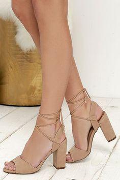 2ea84bb2f8 13 Best strap up heels images | Heel, High heels, High shoes