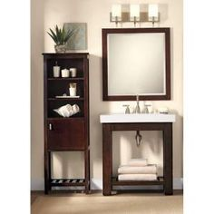 Home Decorators Collection, Lexi 20 in. W Linen Cabinet, 1059710810 at The Home Depot - Mobile