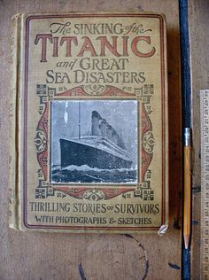 The sinking of the Titanic occurred on the night of 14 April through to the morning of 15 April 1912.  Can you believe that it has now been 100 years!