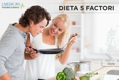 Denumirea acestei diete se refera la faptul ca fiecare masa trebuie sa includa 5 elemente: proteine, carbohidrati complexi, fibre, grasimi si lichide. Denumirea dietei se refera si la faptul ca trebuie sa luati 5 mese pe zi. Dieta contine retete cu maxim 5 ingrediente, sau cu ingrediente care pot fi pregatite in maxim 5 minute si apoi gatite in maxim 5 minute -   http://www.i-medic.ro/diete/dieta-5-factori