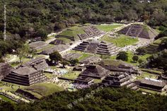 Located in the state of Veracruz Mexido, El Tajin was at its height from the early 9th to the early 13th century. It became the most important center in north-east Mesoamerica . Its cultural influence extended all along the Gulf and penetrated into the Maya region.  El Tajín flourished from 600 to 1200 C.E. and during this time numerous temples, palaces, ballcourts, and pyramids were built. From the time the city fell, in 1230, to 1785, no European seems to have known of its existence.