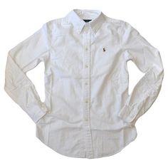 awesome Polo Ralph Lauren Women's Custom Fit Oxford Button Down Shirt