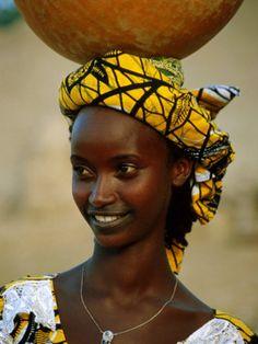 Peul Woman, Djenne, Mali