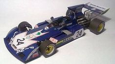 F1 Paper Model - 1973 Surtees TS 14A Paper Car Free Template Download