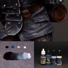 Paint it Black! Part cloches. Paints used: Flat Black (Andrea Color), Cantabric Blue (Scalecolor), Marengo , Pearl White (both Art Color) All Vallejo Model Color. Death Korps Of Krieg, Miniature Bases, Top Paintings, Black Highlights, Warhammer 40k Miniatures, Warhammer 40000, Black Flats, Painting Techniques, Pearl White