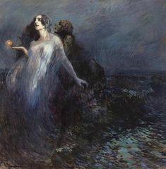 Cipriano Mannucci - Verso la luce, 1910.